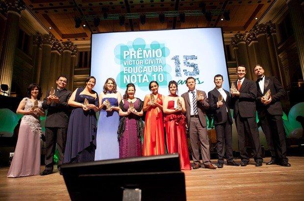 Os vencedores de 2012