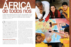 """The article titled """"Africa de todos nós"""" (Africa for us all), published in NOVA ESCOLA, wins IFJ award"""
