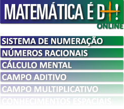 Some of the courses available from the Matemática é D+! (Math is the Best!) program