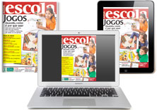 A revista digital pode ser baixada em computadores e tablets