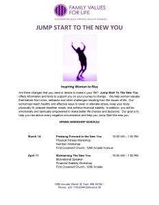 FVFL Jump Start to the New You 2015