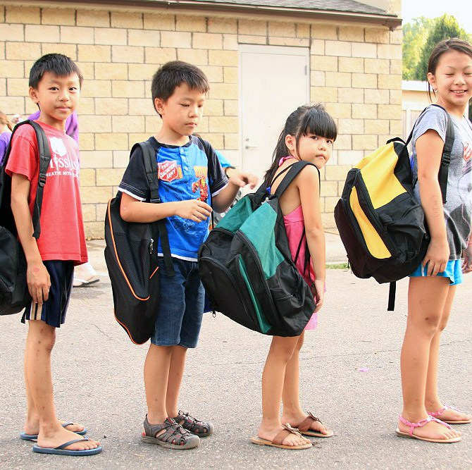Family Values For Life x Back To School Backpacks