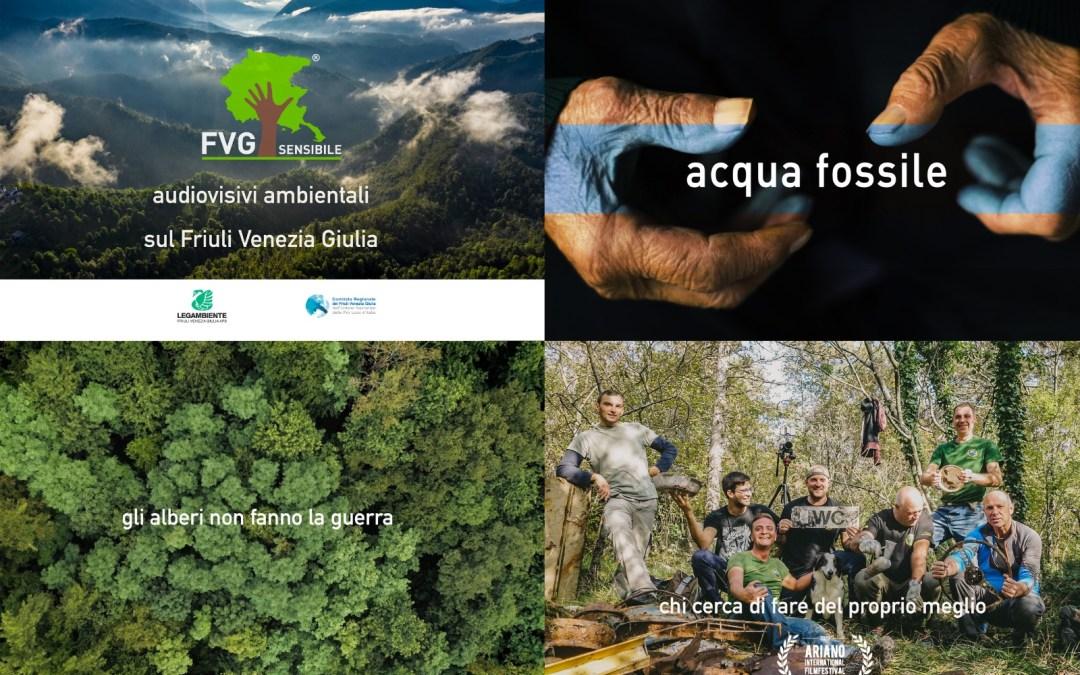 Fvg Sensibile rende fruibili a tutti i propri cortometraggi ambientali
