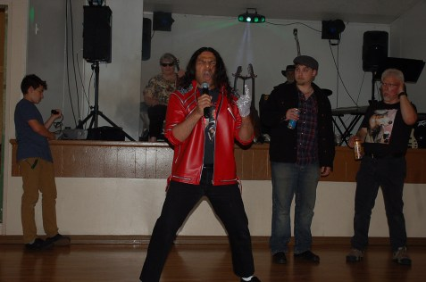 "Clive ""MJ The Hitman"" Ramroop sings ""Beat It!"""