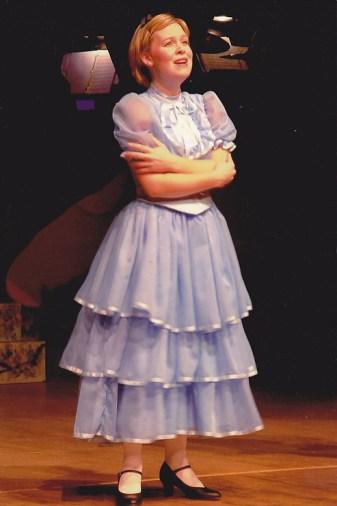 Alice (Rebekah MacEwan) wonders about Wonderland.