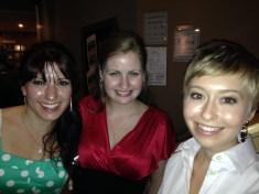 Kate Naylor, Paula Cooper and Laura Luongo look stunning at the 2013 CTC Awards Gala.