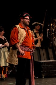 """James Walker as """"Samuel"""" and the cast of """"The Pirates of Penzance"""" perform at the 2015 Community Theatre Coalition Awards show."""