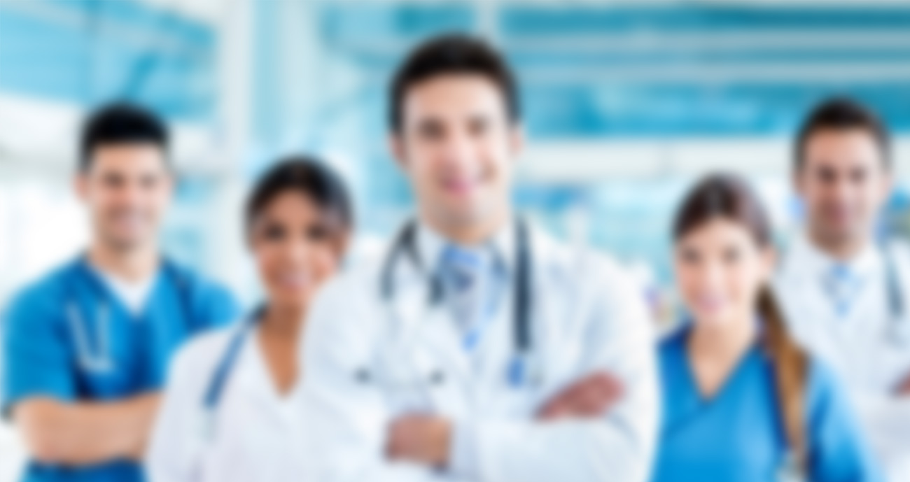 Banner en línea de asistente médico