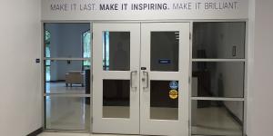 Library entrance Miramar Campus
