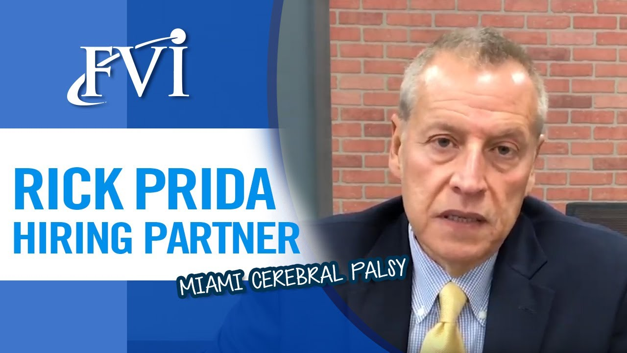 Rick Prida from Miami Cerebral Palsy