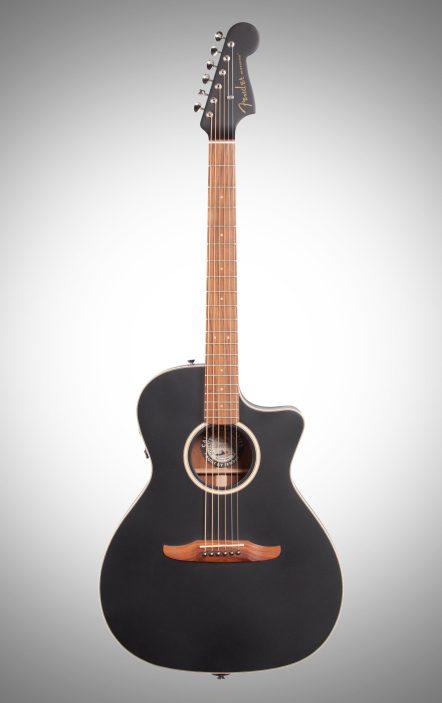 Thin Body Acoustic Guitar Fender Newporter