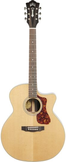 Jumbo Acoustic Guitars Guild Westerly F-150CE