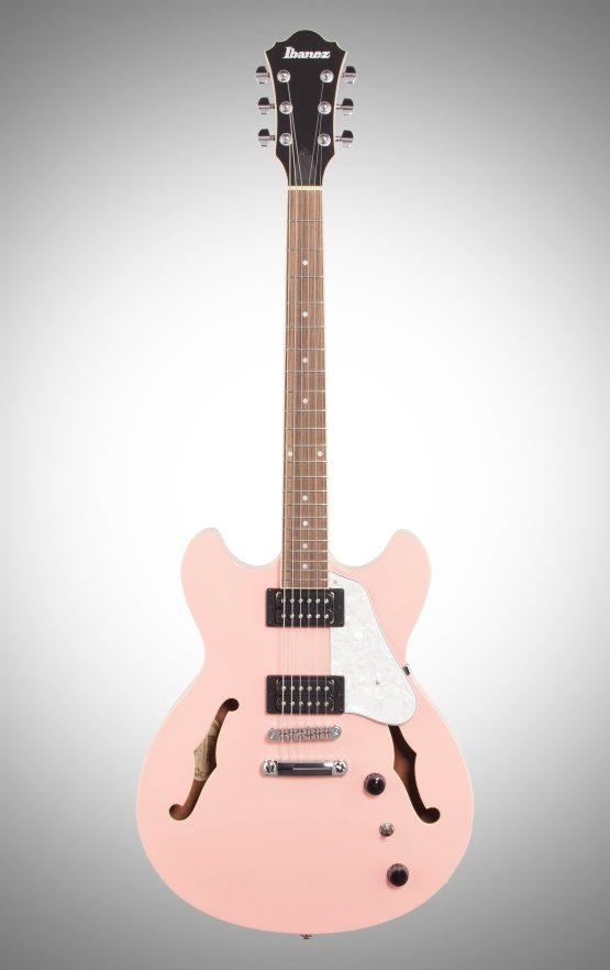 Pink Guitars - Ibanez AS63 Artcore Vibrante Semi-Hollowbody Electric Guitar,