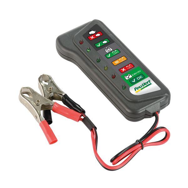 testeur de batterie multifonctions feu vert