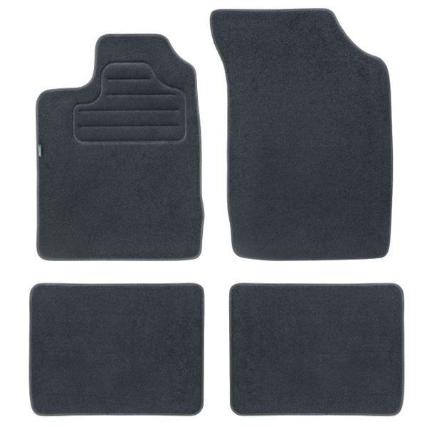 4 tapis sur mesure pour renault clio 2 version 1