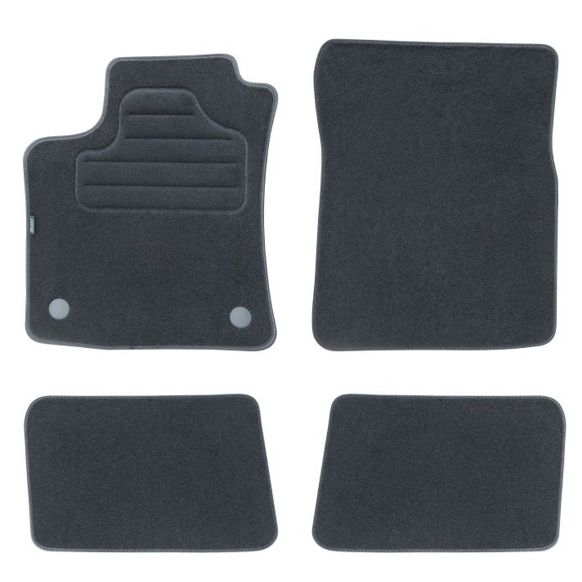 4 tapis sur mesure pour renault twingo version 2 feu vert