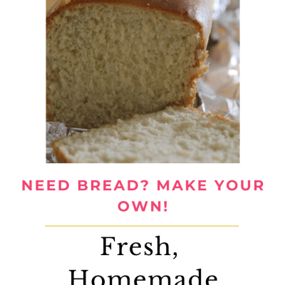 FV Woman's Fresh Homemade Everyday Bread