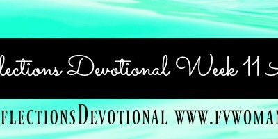 Reflections Devotional Week 11 Alive