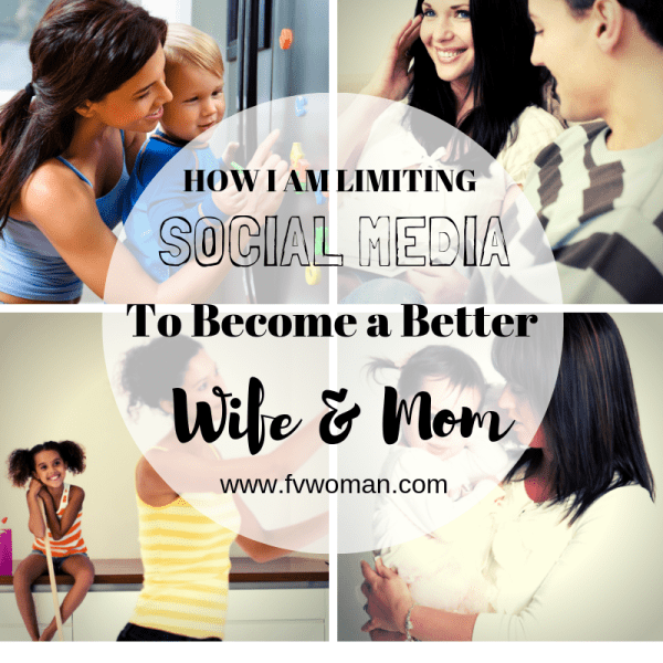 How I'm limiting social media to become a better wife and mom