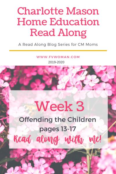 Charlotte Mason Hoem Education Read along series