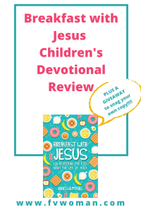 Breakfast with Jesus Devotional Launch and book review