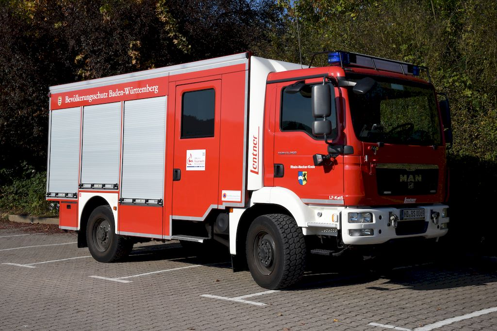 Löschgruppenfahrzeug Katastrophenschutz - LF-KatS