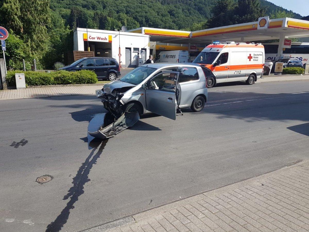 Verkehrsunfall Bahnhofstraße