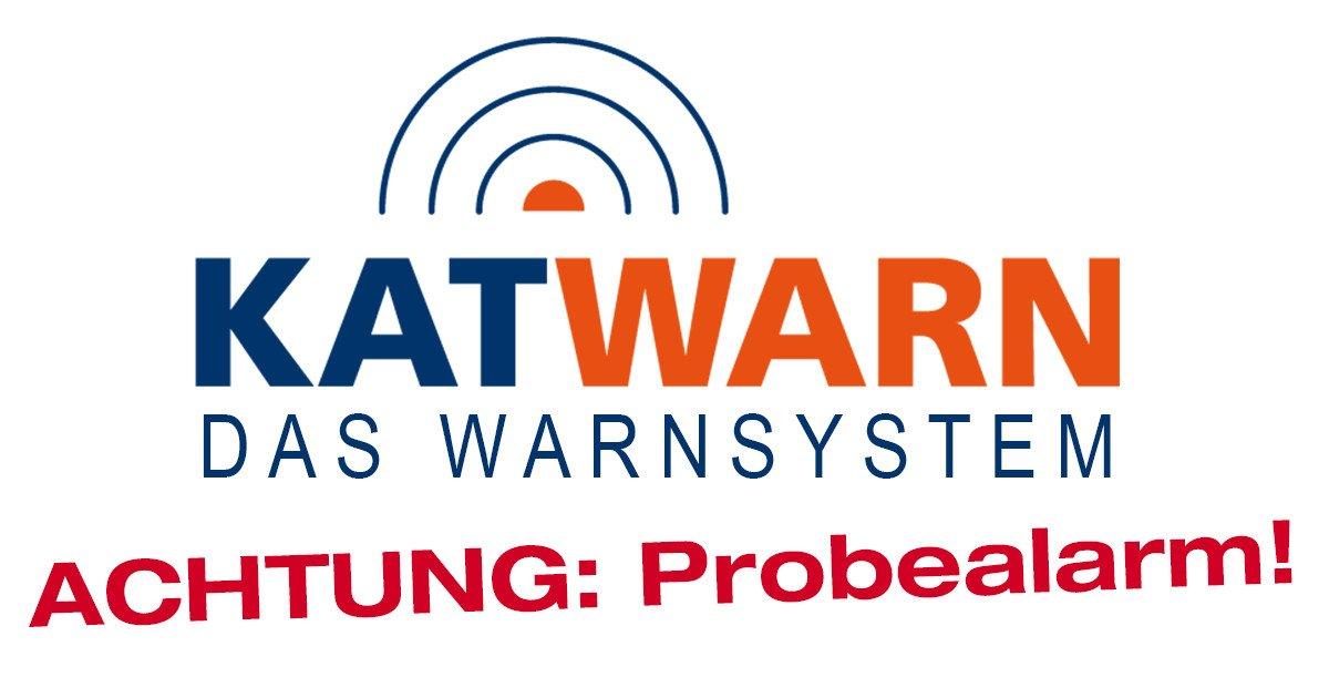 """Probealarm """"Katwarn"""" für den Rhein-Neckar-Kreis"""