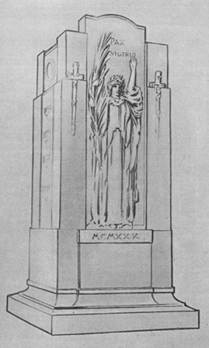 Dedham Memorial Drawing