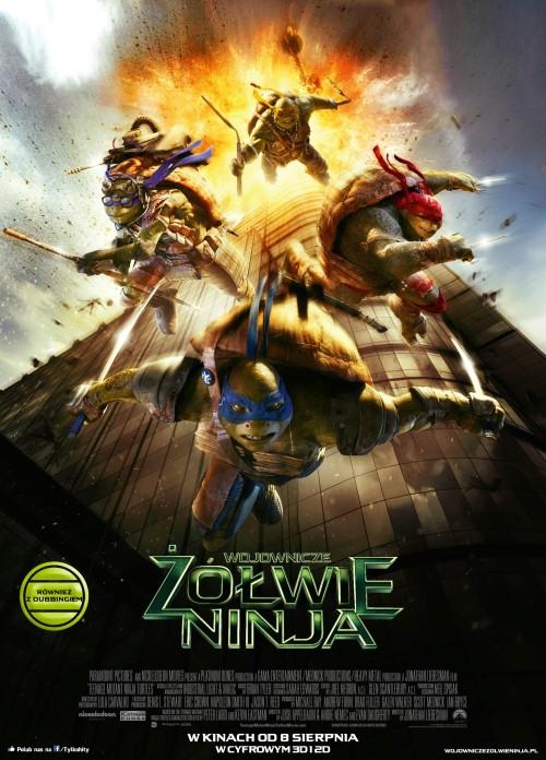Wojownicze żółwie ninja cały film napisy pl