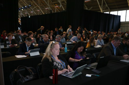 FWD50 attendees during the Wednesday workshop