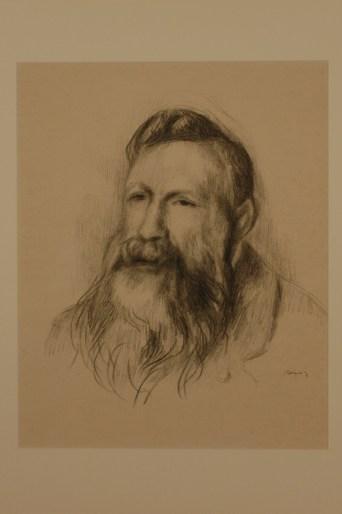 A portrait of Rodin.