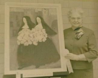 Photograph courtesy of the family of Juanita Graham Yeakel Bowers Joyce, 1928 alumnus of the Fort Wayne Art School & Museum