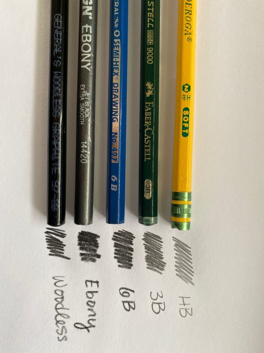 A photo of pencils of varying color for artistic use.