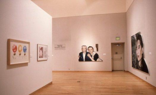A gallery shot of Hung Liu's work at FMWoA in 1996.