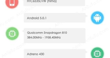 HTC One M9 benchmark leak
