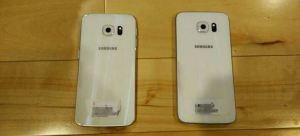 Galaxy S6 vs Dual Edge back