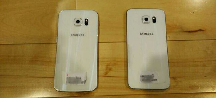 Galaxy S6 vs Dual Edge back