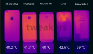 HTC One M9 not overheating