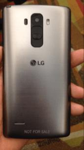 LG G4 rear