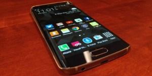 Galaxy S6 edge front