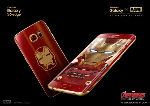 Galaxy S6 edge Iron Man Limited Edition 2
