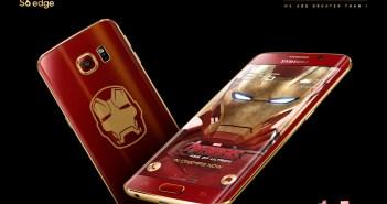 Galaxy S6 edge Iron Man Limited Edition 2