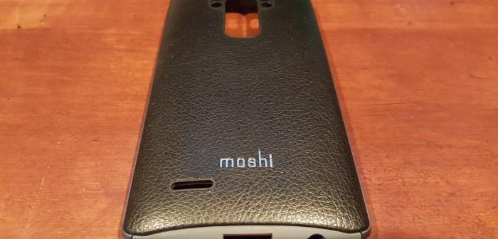Moshi iGlaze Napa LG G4 case feature