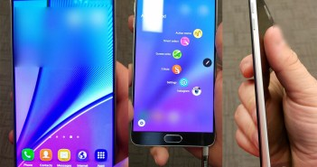 Galaxy Note 5 front leaked