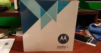 Moto X Pure Edition box