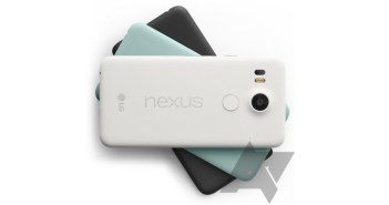Nexus 5X colors
