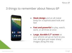 Nexus 6P Slide 3