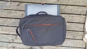 "Moshi Venturo with 15"" laptop"