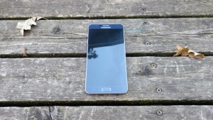 Galaxy Note 5 front view